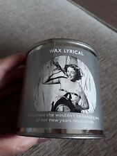 Brand New Wax Lyrical Tin Candle 200g.