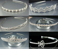 random 1pcs Fashion Mixed more Styles Crystal Rhinestone Hair Headband Hoops