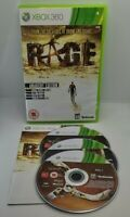 Rage Video Game for Xbox 360 PAL TESTED