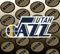 Utah Jazz Logo NBA Color Die Cut Vinyl Sticker Car Window Hood Bumper Decal