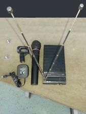 Audio Technica Wireless Microphone System Dr-R3 Atw-R03 Dr-T200 Parts or Repair