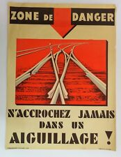 Durupt - S.NC.F Affiche originale de train poster