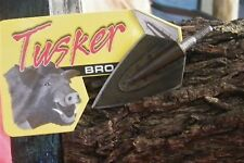 TUSKER BROADHEADS *STEALTH* 220g *SCREW ON * 6 pack #NEW#