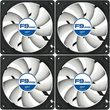 4 x Arctic Cooling F9 PWM 90mm Case Fan upto 1800 RPM (AFACO-090P2-GBA01) AC