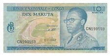 Congo - 10 Makuta, 1967