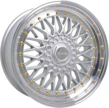 """ALLOY WHEELS X 4 18"""" SPL DR-RS FOR FORD FOCUS MONDEO C S MAX EDGE KUGA 5X108"""