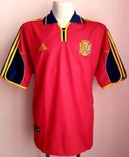 Spain 1999 - 2001 Home football shirt Adidas size XL