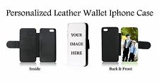 Personalized Iphone 6 Plus/6s Plus Custom Your Picture Leather Phone Case