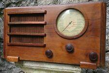 Belle radio TSF S. N. R. de 1935