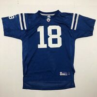 Reebok Kids NFL Indianapolis Colts Peyton Manning Blue Jersey Size Youth XL