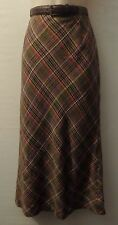 "BASLER plaid maxi skirt UK 10 US 8 EU 38 Length 36"" 92 cm"