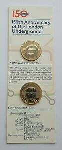 2013 London Underground Logo & Train Set BU £2 Coin - Two Pound