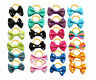 New Pet Cat Small Dog Hair Bows Grooming Accessories w/Rubber bands By Pairs Lot