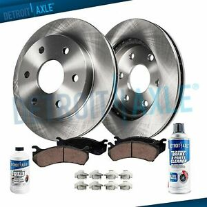 Front PerFormance Ceramic Discs Brake Pads For 2000-2002 Chevrolet Express 1500