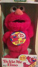 New 1996 TYCO Tickle Me Elmo in original box Sesame Street Elmo