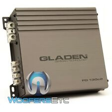 GLADEN FD-130C2 CAR 2-CHANNEL 400W RMS FULL RANGE CLASS D AUDIO AMPLIFIER NEW