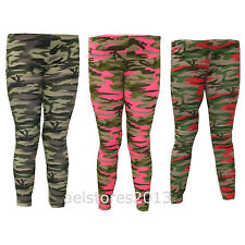 Unbranded Camouflage Leggings (2-16 Years) for Girls