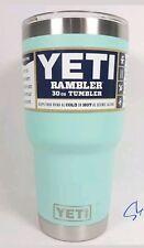 NEW Yeti Rambler 30 oz Tumbler Stainless Steel Cup W/ Lid Seafoam Ships free!