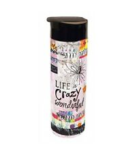 LIFE IS CRAZY WONDERFUL Acrylic Infuser Travel Tumbler, 20 oz, by LANG