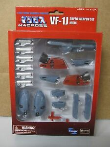 Macross Robotech VF-1J Super Weapon Armor Set Milia - NEW in box