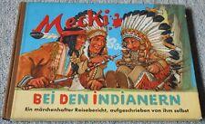 Mecki bei den Indianern - Hammerich & Lesser Verlag 1956