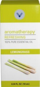 Lemongrass - 100% Pure and Natural Essential Oil - Aromatherapy - 10ml