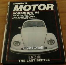1977.MOTOR.PORSCHE 928 V8.The last VW BEETLE.SAAB.Holden SUNBIRD.Panel Van Show