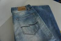 JACK & JONES Herren Jeans Hose 32/34 W32 L34 stonewashed used darkblue blau TOP
