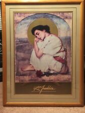 """Noted Artist -  R Franklin """"La Gracia""""- Matted And Framed !"""