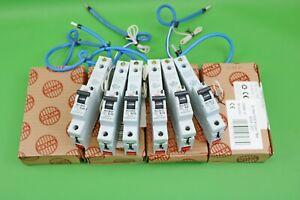 Wylex RCBOs B6 B16 B20 B32 B40 C6 C40 NSBS 30mA Single Pole Type B Type C RCBO