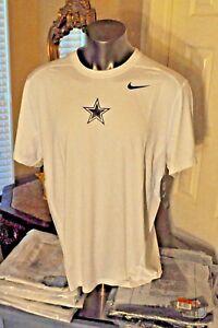 Dallas Cowboys star NFL Nike Hypercool White Fitted Shirt Multi Men's Sizes NWT