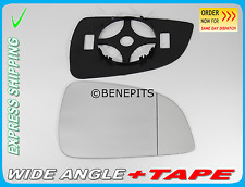Opel ASTRA H ECO 2009-10 Wing Mirror Glass  Wide Angle +BP+TAPE Right Side /F032