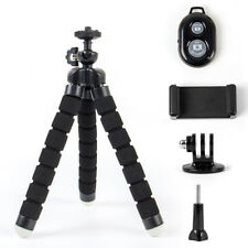 Cell Phone Tripod TriFlex Mini Flexible Tripod iPhone Android Bluetooth Remote