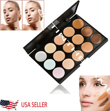 15 Colors Contour Concealer Face Cream Makeup Palett Professional Salon Party