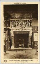 CLUNY Burgund France CPA ~1910/20 Cheminée Kamin Troyes