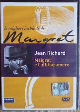 Maigret e l'affittacamere - con Jean Richard - dvd nuovo sigillato