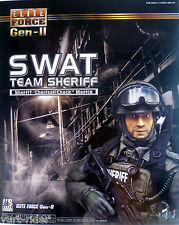 "bbi Elite Force SWAT Sheriff Charles ""Chuck"" Morris 1/6 figure NIB"