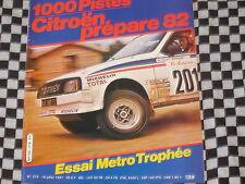 AUTO-HEBDO 1981 RALLYE 1000 PISTES / AUSTIN METRO TROPHEE / COUPE R 5 TURBO