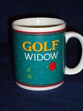 "4"" Papel ceramic Golf Widow coffee Mug"