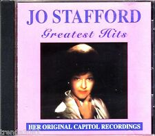 Jo Stafford Greatest Hits Curb CD Classic 50s 60s Country Johnny Mercer Rare OOP
