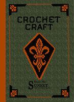 Crochet Craft c.1915 HUGE Vintage Crochet Pattern Book Also Knitting Tatting