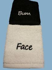 Serviettes, draps et gants de salle de bain en tissu