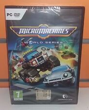 Micro Machines World Series PC NUOVO ITA