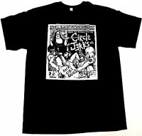 CIRCLE JERKS T-shirt Hardcore Punk Rock Tee Men S,M,L,XL,2XL Black New