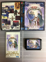 Juwel Master Sega Mega Drive MD Used Japan Import Puzzle Game Boxed w/s Manual