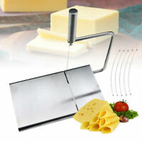 Cheese Butter Slicer Cutter Board Stainless Steel  Wires Cutter Baking Too MW