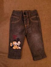 Disney baby boy trousers, denim,100%cotton, size0-3months, new no tag