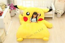 Super big Single Bed Filled Pikachu Bed Carpet Tatami Mattress Sofa Bean Bag Gif