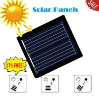 DIY Mini Solar Panel Module System Battery Charger Q1Q9 05W For Cell 1V