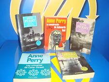 Libro ANNE PERRY- cinco libros de esta autora diferentes